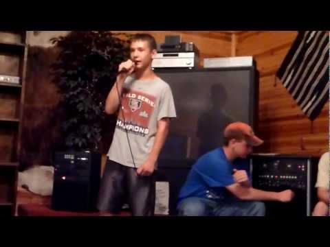 "Josiah Singing ""Savior"" by Skillet -- Karaoke A Cappella Style!!!!"