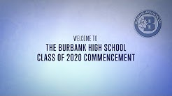 Burbank High School Commencement 2020