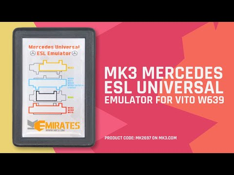 MK3 Mercedes ESL Universal Emulator For Vito 639