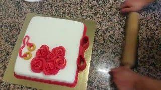 Nişan Pastası Yapımı-Pate a Sucre Gateau [HD]