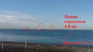 Траектория посадки и взлета самолетов в Сочи (Адлер)