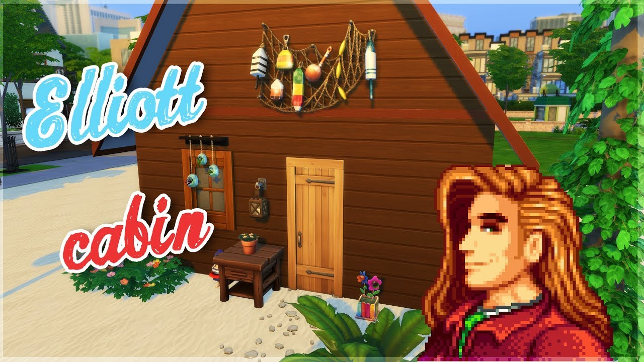 speedbuild ~ Elliott's Cabin ~ Stardew valley