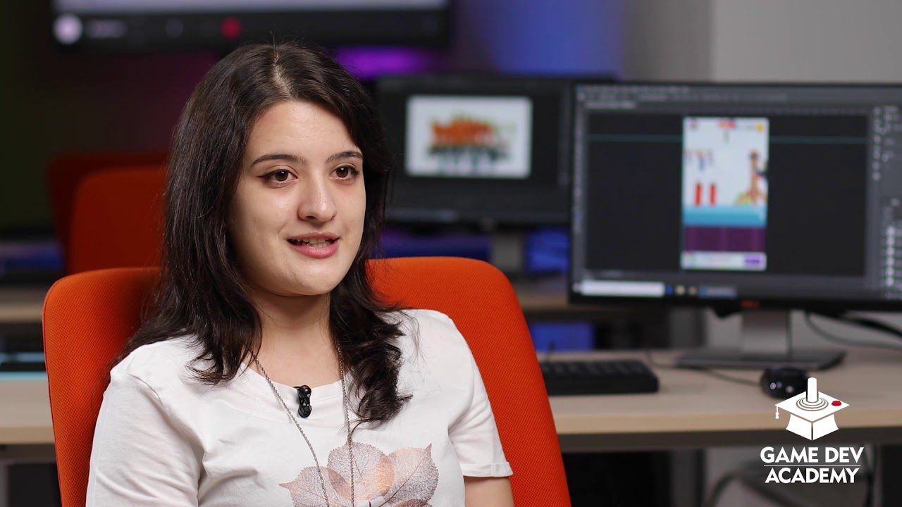 Cristina povesteste despre experienta GameDev Academy!