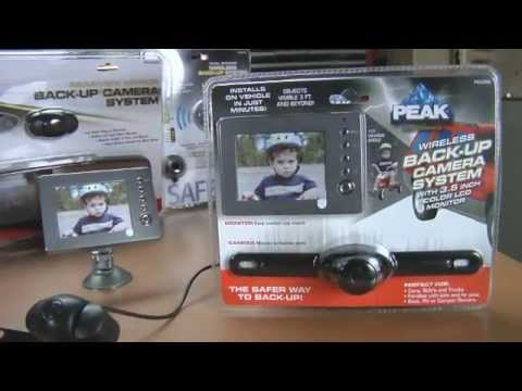 PEAK How To Install a Back-Up Camera System - YouTube
