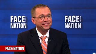 OMB Director Mulvaney says President Trump has confidence in COS John Kelly