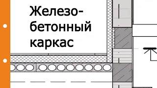 Железобетонный каркас в коттеджном строительстве