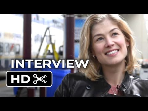 Hector and the Search For Happiness Interview - Rosamund Pike (2014) - Adventure Comedy HD