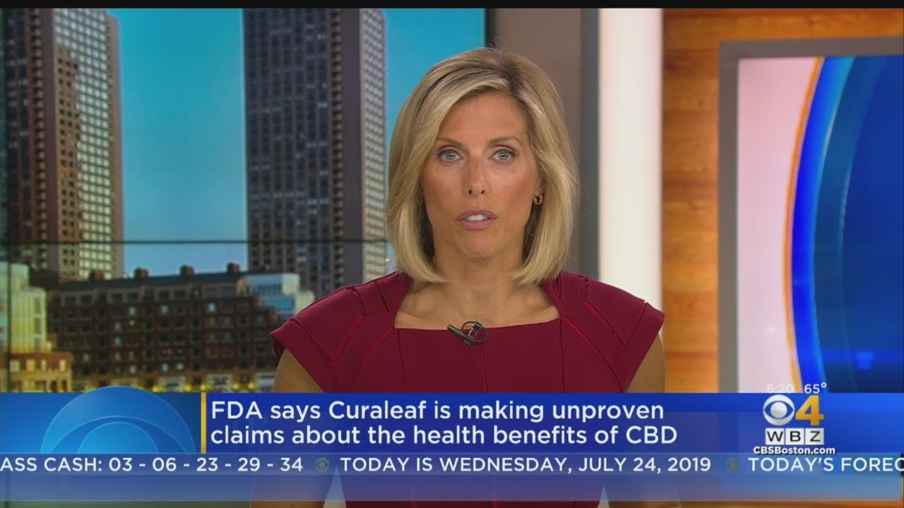 FDA Says Curaleaf Is Making Unproven Claims About The Health Benefits Of CBD
