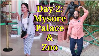 🔥Day 2: Mysore Vlog Part 2 | PALACE & ZOO | Go Glam with Keerthy
