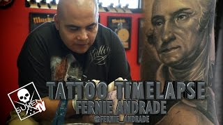 Tattoo Time Lapse - Fernie Andrade