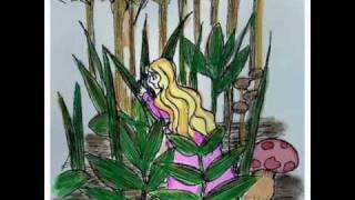 アンデルセン童話からおやゆび姫を選んで作画。作画に短いお話をつけま...