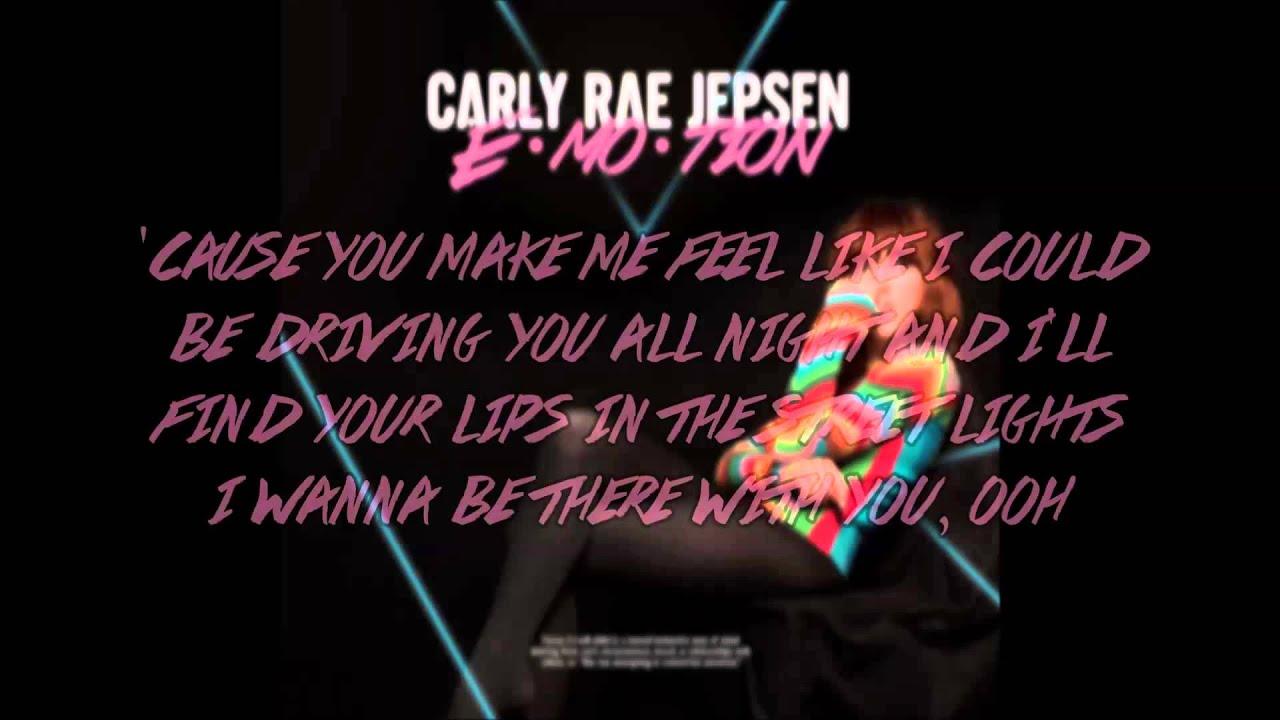 fca330bdee6b Carly Rae Jepsen - Run Away With Me (lyrics) - YouTube