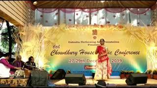Saberi Misra Kathak Dance - Chowdhury House Kolkata