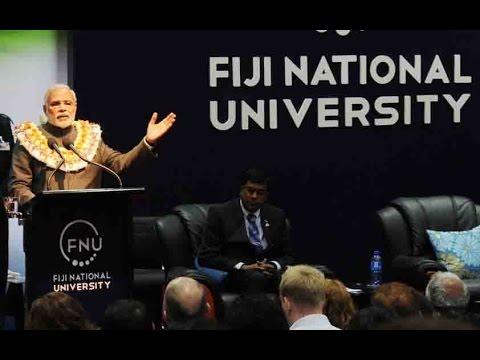Narendra Modi speech at Fiji National University