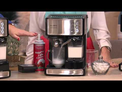 Mr Coffee Coffee Maker Not Working : Mr. Coffee Cafe Barista Espresso, Latte & Cappuccino Maker w/Grinder with Stacey Stauffer - YouTube