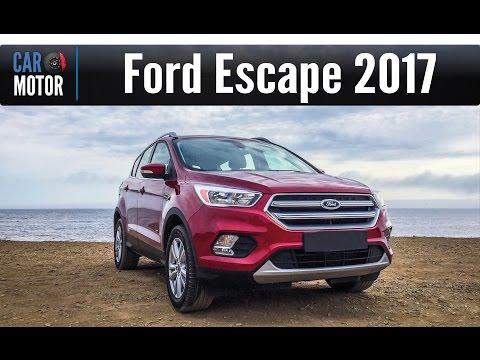 Ford Escape 2017 - Ahora es más tecnológica y muy rápida