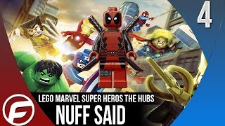 LEGO Marvel Super Heroes Walkthrough THE HUBS Nuff Said Part 4 Gameplay Let