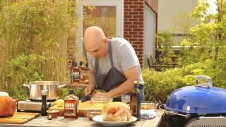 Knob Creek® Single Barrel Reserve Bourbon Glazed Turkey