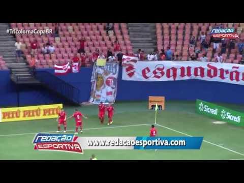 Fast-AM 1 x 1 Vila Nova-GO -  Gols da partida da Copa do Brasil 2017