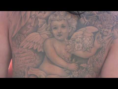 Daisy Marie shows her Cherub Tattoo - LA Photoshoot Campbell aka Snapshot1 | 6mic Films from YouTube · Duration:  1 minutes 16 seconds
