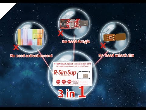 Newest Oct  2018 RSIM Smart ICCID Activation Unlock SIM Card For iPhone X  XS Max XR 6 7 8 4G LTE