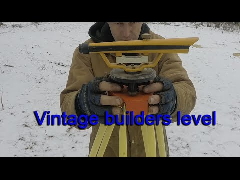 Building More Forms And Leveling With Vintage Survey Equipment