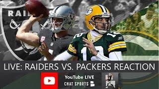 Raiders vs Packers Live Stream Reaction & Updates On Highlights From NFL Preseason Week 3