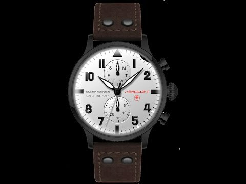 AVIATOR WATCH TYPE 1 OSWALD BOELCKE video