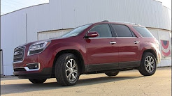 2013 GMC Acadia First Drive Review