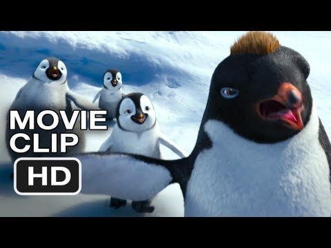 Happy Feet Two #2 Movie CLIP - Robin WIlliams, Cute But Ruthless (2011) HD