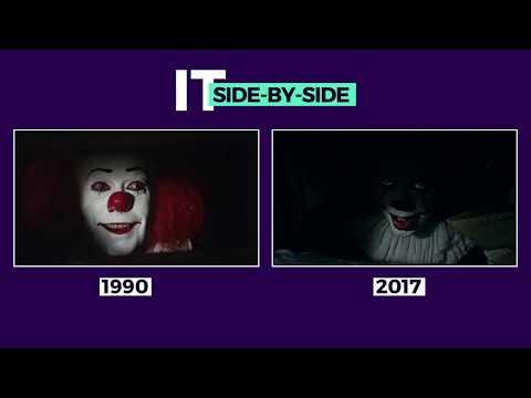 1990 & 2017 It Trailers Side-By-Side