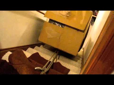 Moving Safe Downstairs With Hummer Youtube