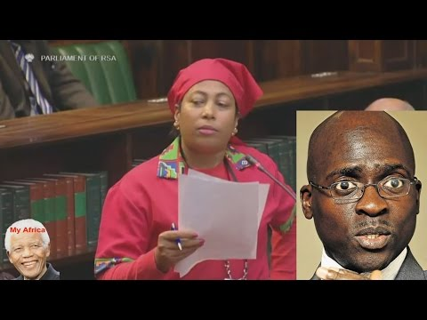 """Minister Gave Girlfriends Cash For Affairs""  EFF Hon Maxon. Funny"