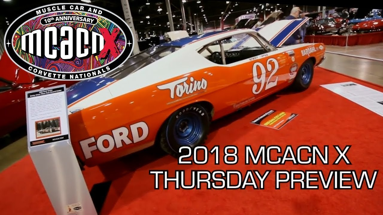 2018 Muscle Car And Corvette Nationals Week Preview V8tv Mcacn