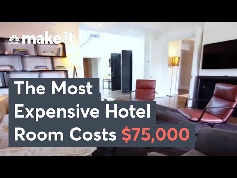 The Most Expensive Hotel Room In America – Secret Lives Of The Super Rich
