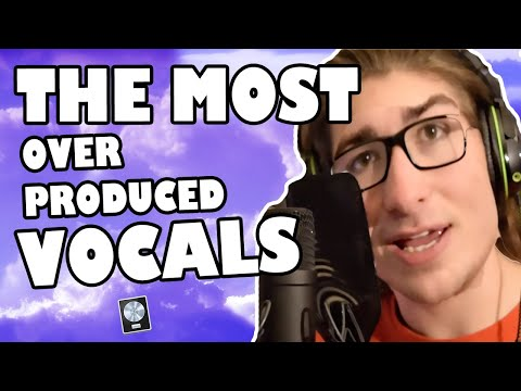 Mixing the Most OVER PRODUCED VOCALS! - Logic Pro X