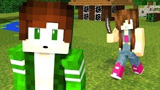 Minecraft - MURDER COM A JULIA MINEGIRL
