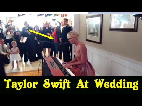 Taylor Swift Surprises Fan with a Special Performance of 'Blank Space' at His Wedding  | Live News