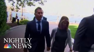 Lori Loughlin Appears At Hearing In College Admissions Cheating Scandal | NBC Nightly News