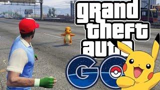 Pokemon Go in GTA 5! - Finding Mewtwo! (GTA 5 Funny Moments)