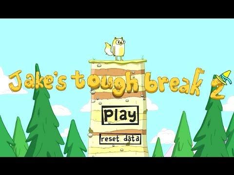 Adventure Time - Jake's Tough Break 2 (Level 1-14) - Cartoon Network Games