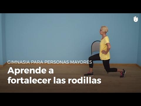 Ejercicio para fortalecer las rodillas | Gimnasia para personas mayores