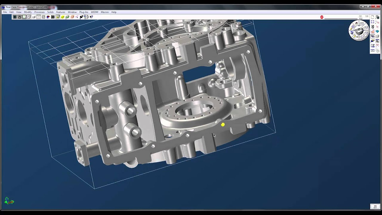 Part Position - GibbsCAM by 3D Systems