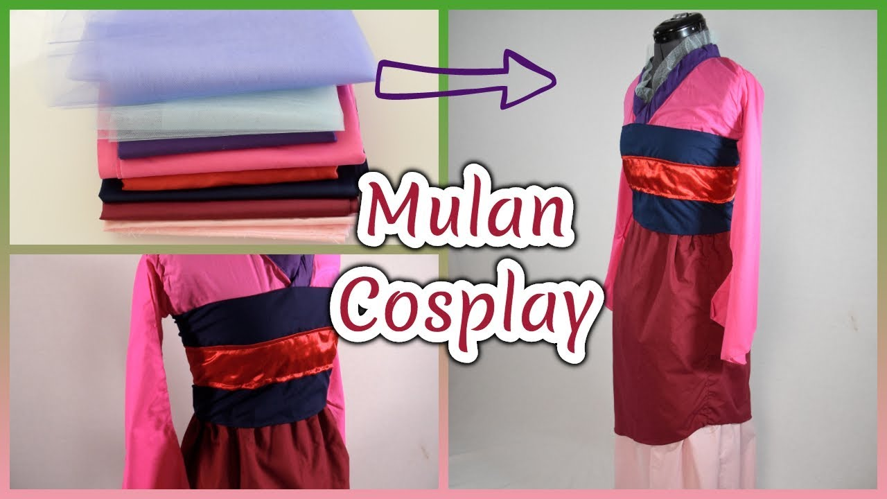Diy Mulan Cosplay Youtube
