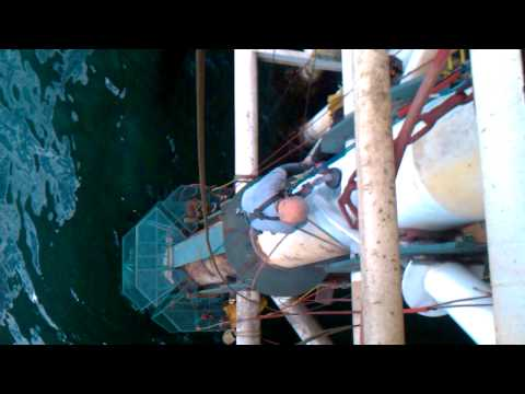 Structural Upgrade via Rope Access on Oil Platform Video 2 - Santa Barbara