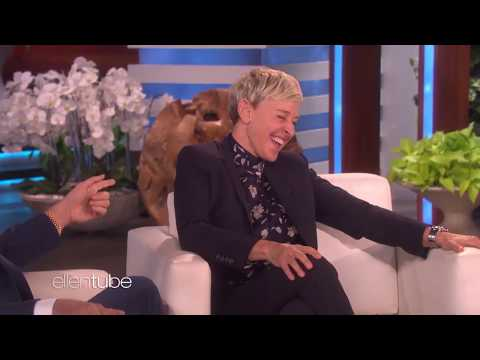 Ellen DeGeneres's laugh