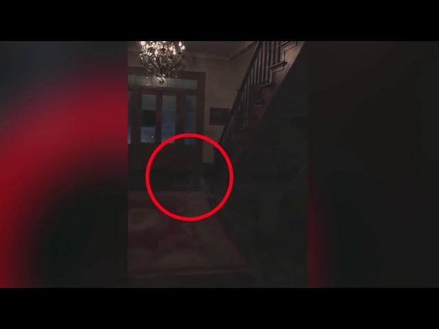 Una pareja graba los pies fantasmales de tres niños en una plantación embrujada de EE.UU.
