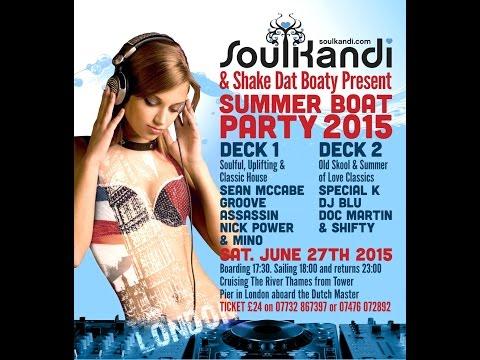 Soul Kandi & Shake Dat Boaty Summer Boat Party 2015