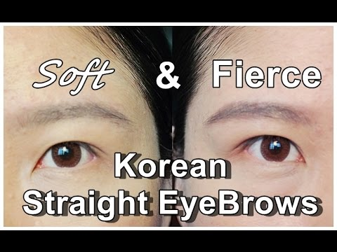 How To Draw Eyebrows Straight