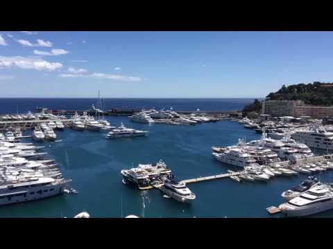Yacht parking in Monaco - timelapse